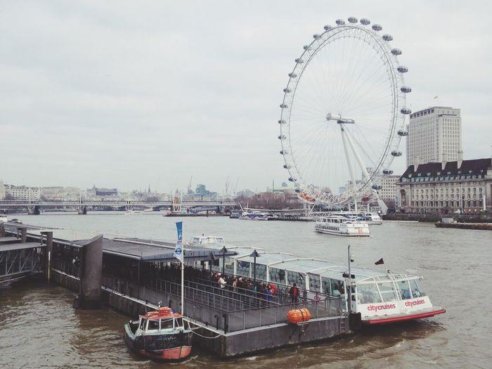 River Thames London Cruise Ship River Goodmorning