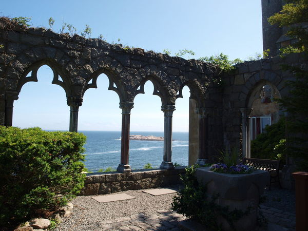 At Hammond Castle In Gloucester Mass