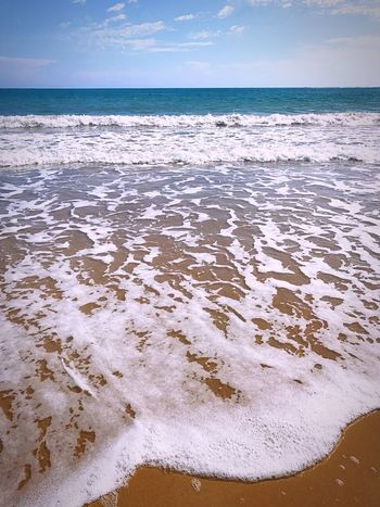 EyeEmNewHere Sea Beach Water Nature Sand Beauty In Nature Shore Wave Sky No People Outdoors Tranquility Day Horizon Over Water Tranquil Scene Scenics Beautiful Puerto Rico