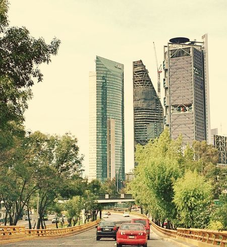 Mexico City Ciudad De México Skyscraper Beautiful Buildings Modern Architecture Paseo De La Reforma
