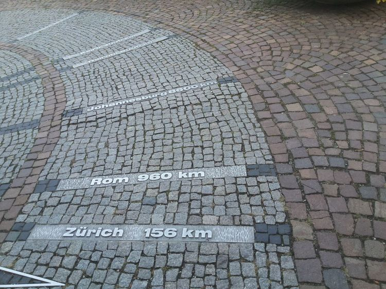 Road Rome Zürich Day Destination Distance Km No People Outdoors Rock - Object