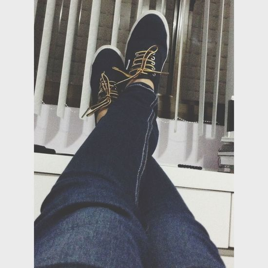 Hanging Out Chilling Vans