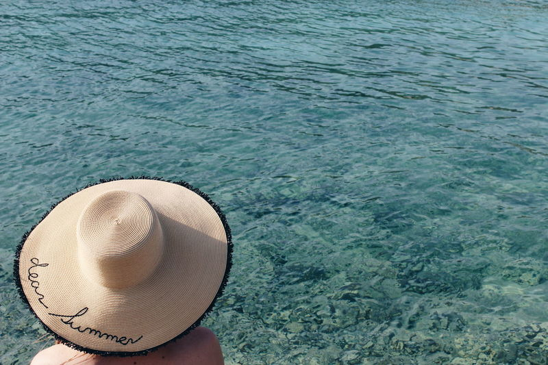 Croatia Dear Summer Hat Beach Beauty In Nature Close-up Croatia_photography Croatiafulloflife Croatian Day Girl With Hat Hat High Angle View Nature No People Outdoors Sea Summer Sun Hat Swimming Pool Vscocam Water Lost In The Landscape Tranquility Vacations EyeEmNewHere