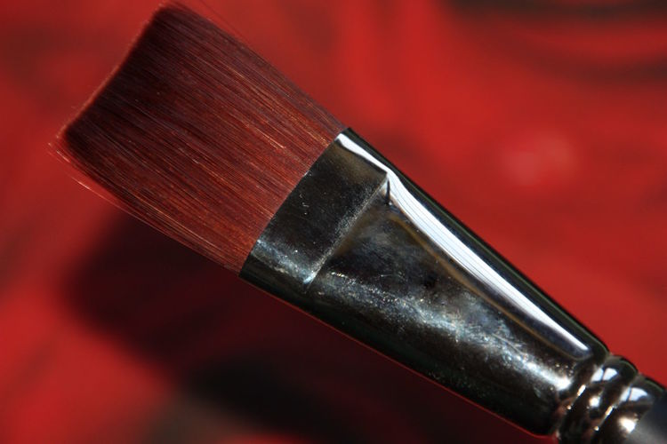 Close-up Day Focus On Foreground Indoors  Metal No People Red Single Object Brush Art Special Brush Painting Brush