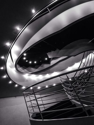 Stairway to heaven Light And Shadow Blackandwhite Architectural Detail Stairs