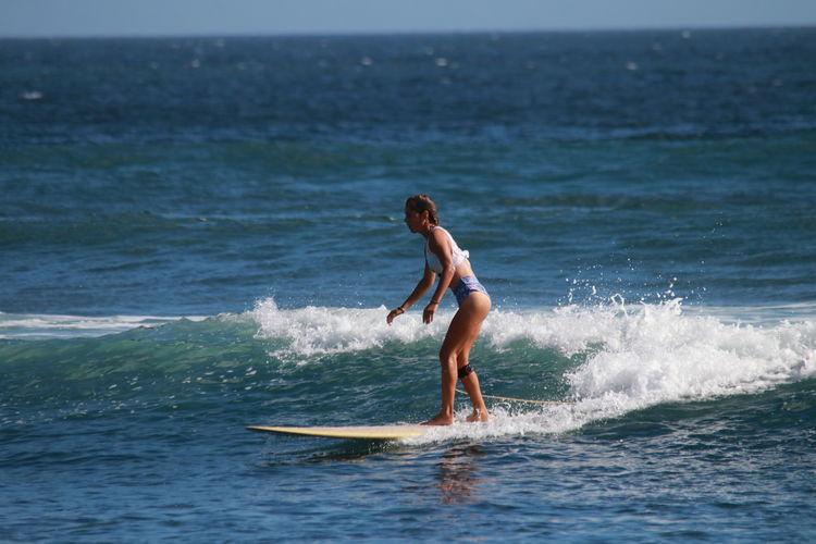 Bali Balilife Girl Bikini Bikini Top Bikini Time❤ Model Modeling Surf's Up Wave Paddleboarding Athlete Water Wave Extreme Sports Sea Sport Sportsman Adventure Full Length Surfing Surfboard Surfer Surf Tide Water Sport Wetsuit