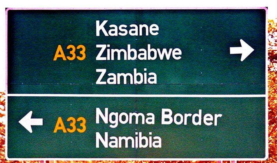 Africa Signal Zambia Namibia Border