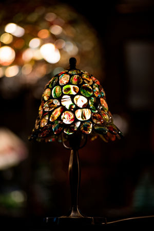 Art Is Everywhere Bubbles Colors Bokeh Close-up Colorful Day Focus On Foreground Handmade Illuminated Indoors  Multi Colored No People Tiffany Lamp