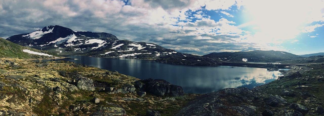 Norway Sun Snow