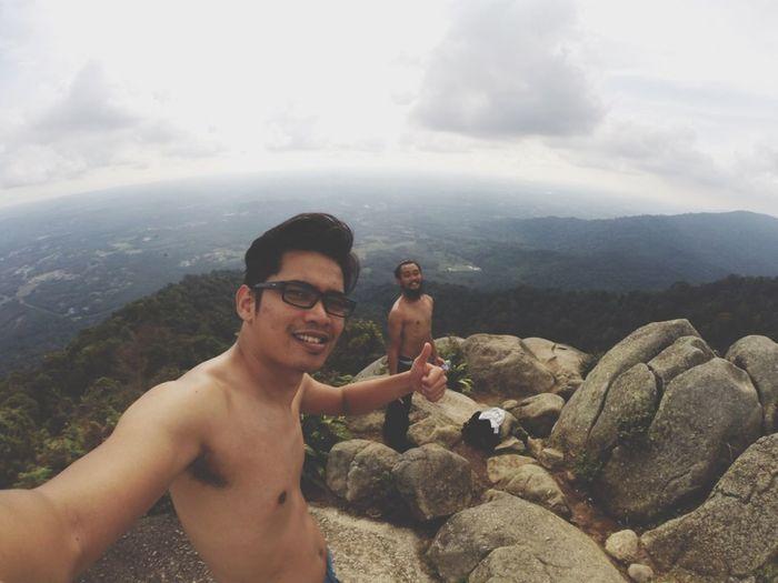 Hiking and Climbing at Gunung Datuk Negeri Sembilan Malaysia preparing for My Solo Traveling to Annapurna Base Camp