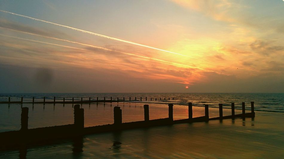 Beautiful Morning Sunrise on the costa del Dymchurch
