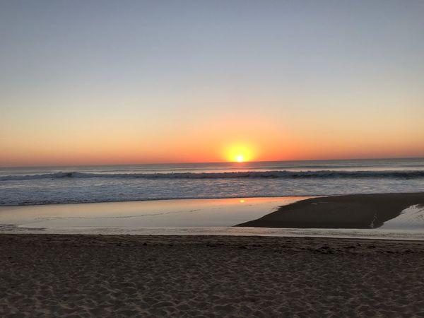 Sky sunset couché de soleil cap ferret Sky Sunset Sea Water Scenics - Nature Beach Land Beauty In Nature Horizon Over Water Clear Sky Horizon No People Sun Nature Idyllic