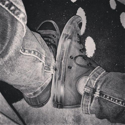 Shoesareboringwearsneakers Converseallstar Blackonblack IForgotTheNameOfTheFilterIUsed LolThatHappensDoesntIt?