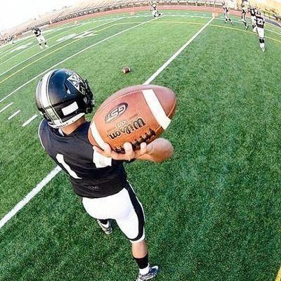 Football flashback 2015 Footballplayer  Football Americanfootball Gridiron Pigskin  Quarterback Fenwickfriars Fenwickfootball