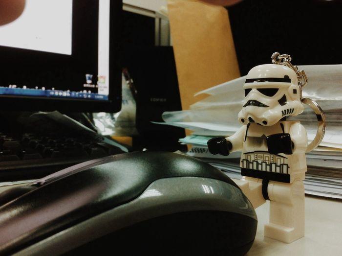 欸 為什麼偷玩我滑鼠 LEGO Starwars Taiwan Ju