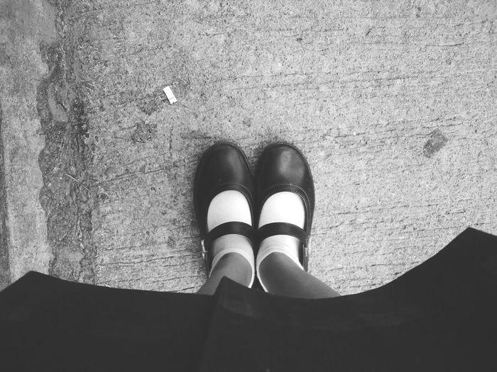 walking Alone.