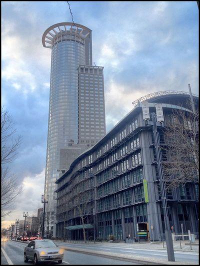 Architecture Frankfurt Wolkenkratzer