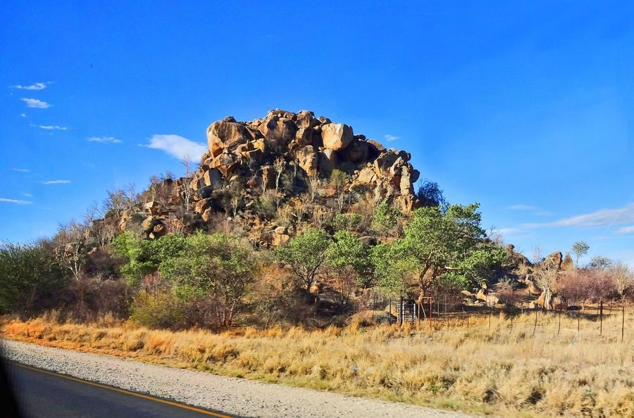 Africa Day Landscape Namibia Nature No People Outdoors Sky Tree Travelphotography Traveling Travel Photography