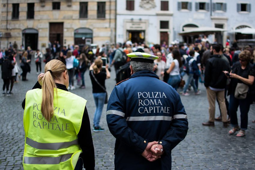City City Life City Street Cityscapes Color Portrait Crowd Eye4photography  EyeEm Best Shots EyeEm Gallery Italy Large Group Of People Lifestyles People People Photography Police Portrait Portraits Roma Rome Selective Focus Street Photography Streetphotography The Street Photographer - 2016 EyeEm Awards