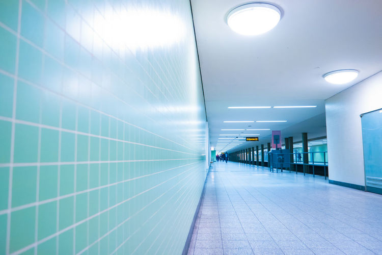 Architecture Built Structure Ceiling Day Illuminated Indoors  No People Subway Station The Way Forward