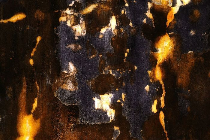 Abstract painted urban wall decay, in gold, brown, black and white. Abstract Textured  Backgrounds Full Frame Close-up Pattern Black Color No People Day Nawfal Heat - Temperature Penang, Malaysia Beautiful Futuristic Multi Colored Painted Walls Illuminated Textured  Non-urban Scene Outdoors Golden Wall Decay