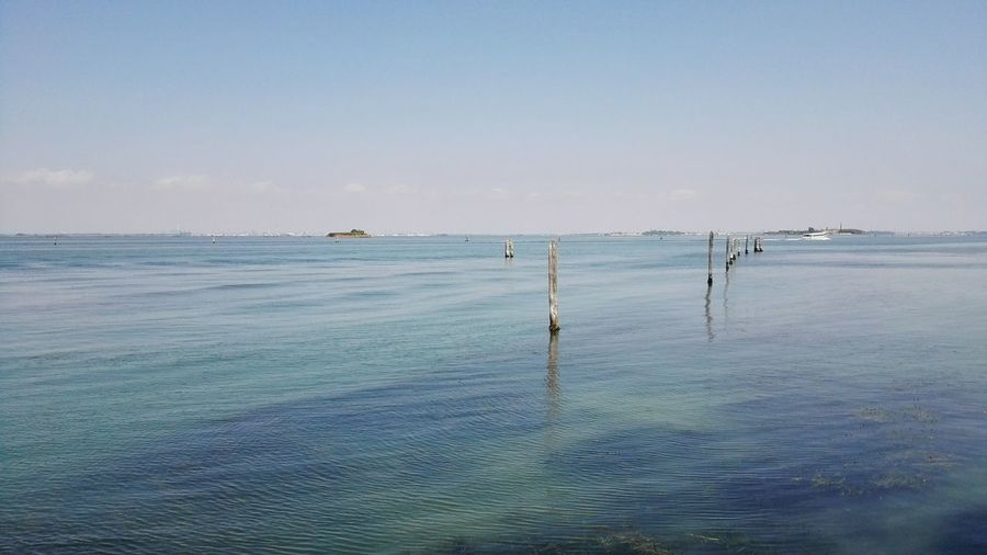 Sea Sea And Sky Seascape Sea Of Venice Lagoon Lido Di Venezia Blue Sea Bricole My Country In A Photo