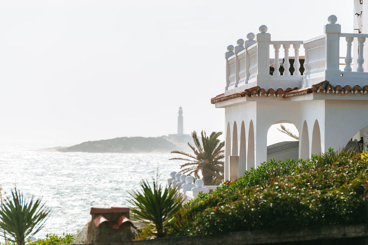 Balcony Beach Coast Holiday House Luxury Mansion RENT Sea SPAIN Sunny Terrace Trafalgar Travel Wealth