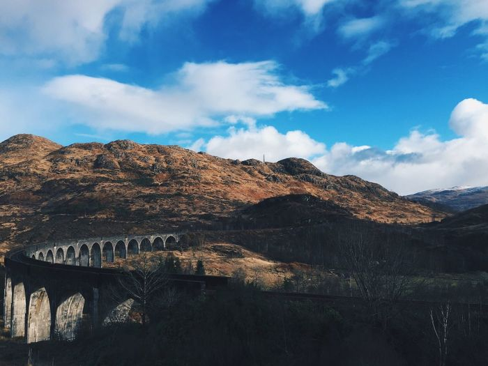 Glenfinnan On Landscape Against Sky