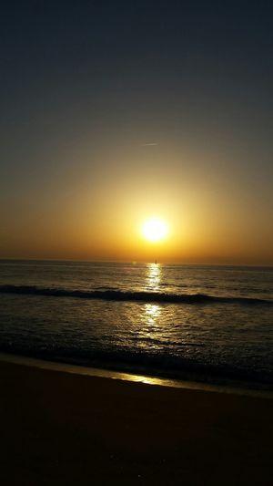 Landes _ Le Coucher Du Soleil Beautiful Nature Atlantic Ocean