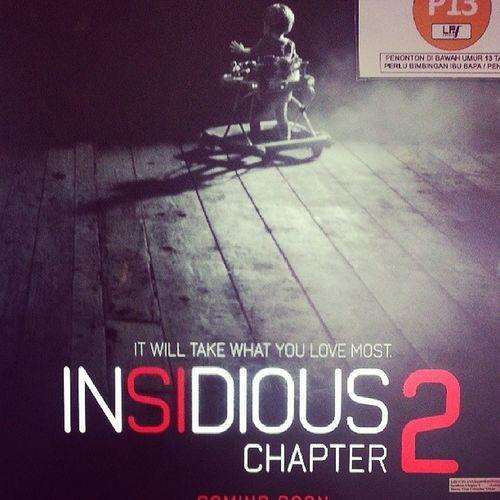 Cinema Insidious Chapter2 With bff @dhia_adawiyah huhu