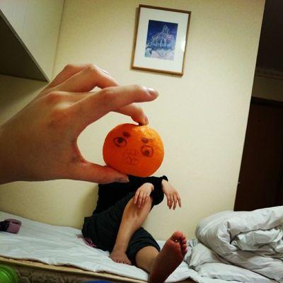 ばぁ~かづら(笑) Orange HEAD Girl