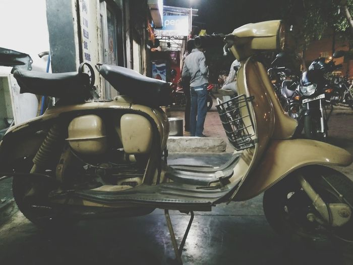 Old Memory Vintage Love Passion Masti Somespecial Scooter