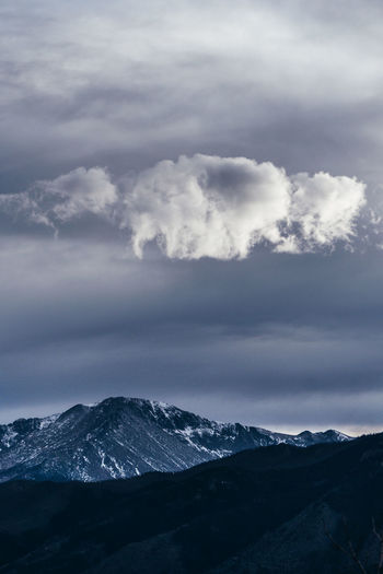 snow mountain Picoftheday Photography Canon EyeEm Best Shots Mountain Cold Temperature Sky Close-up Cloud - Sky Landscape Atmospheric Mood Dramatic Sky Moody Sky Cloudscape Cumulus Cloud Snow Covered Overcast Sky Only
