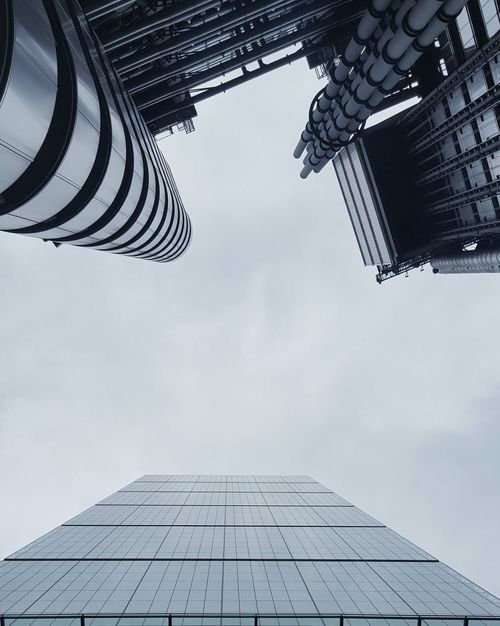 Business Finance And Industry Architecture No People Built Structure Cloud - Sky Outdoors Above Steel Sky Day Architecture London Cheesegrater Building Lloyds Building Lloyds Cheesegrater Leadenhall Building City From Below Looking Up The Architect - 2017 EyeEm Awards EyeEm LOST IN London See The Light
