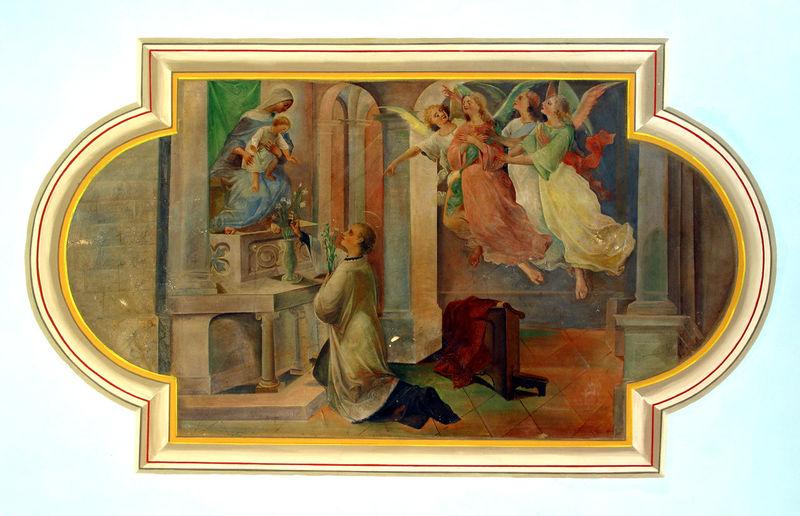 Saint Aloysius Aloysius Art Christianity Church Croatia Faith Fresco Holy Religion Religious  Sacred Saint Spiritual Worship
