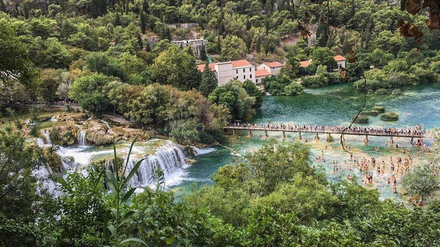Wasserfälle Kroatien Water Green