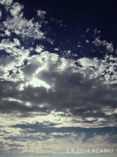 Clouds Chilling Take Photos Crete