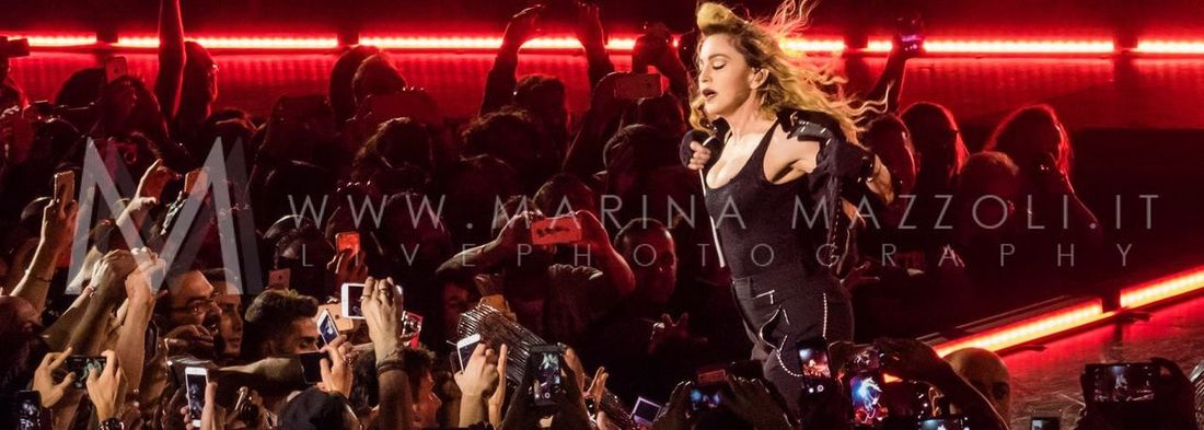 Madonna Rebel Heart Tour in Turin Madonna RebelHeart Music Live Music Livephotography