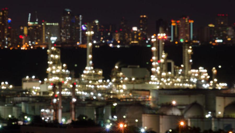 City Night Blur
