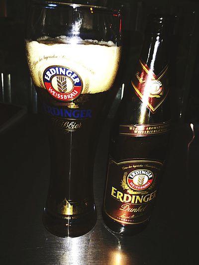 On Fleek Beer Fridaynight Thegoodlife Findthegoodshit ONFLEEK German Beer Erdinger Dunkel