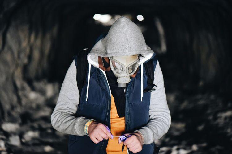 Vscocam Gasmaskonface Portrait Gas Masks