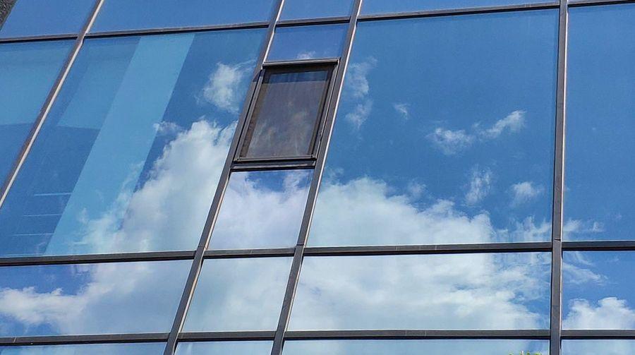 Steel Blue Sky
