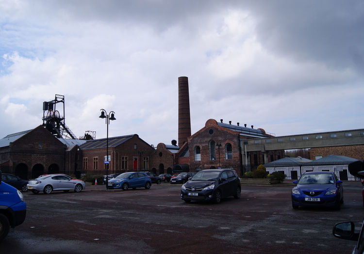 Lady Victoria Coal mine pit head which is now a Museum. #coal Mine #coal Mine Museum #coal Mine Pit Head #digging For Coal #pit Head Architecture Building Exterior Car City Cityscape Cloud - Sky Day No People Old-fashioned Outdoors Sky Urban Skyline