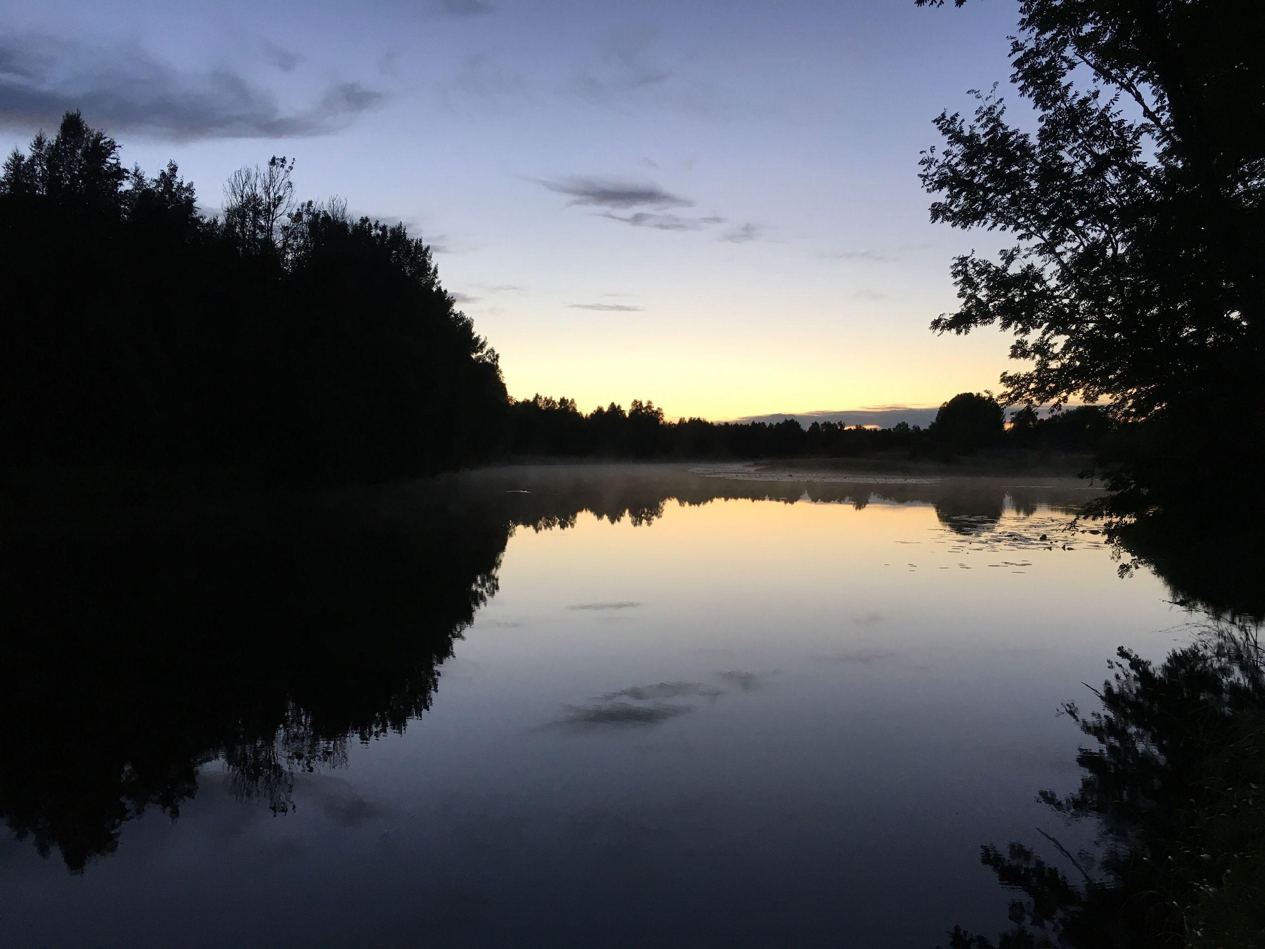 Hidden Gems  River Night Nightphotography Lapland Finland First Eyeem Photo