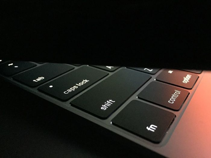 Computer Keyboard Communication Technology Computer Key Text Number Keyboard Alphabet Close-up Computer Connection No People Internet Black Background Indoors  Newmacbook Space Gray