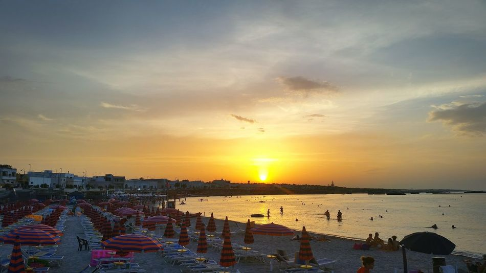 The Traveler - 2015 EyeEm Awards Enjoying The Sunset Being A Beach Bum Relaxing Enjoying The Sun Sea Puglia San Foca Beach Photography Taking Photos