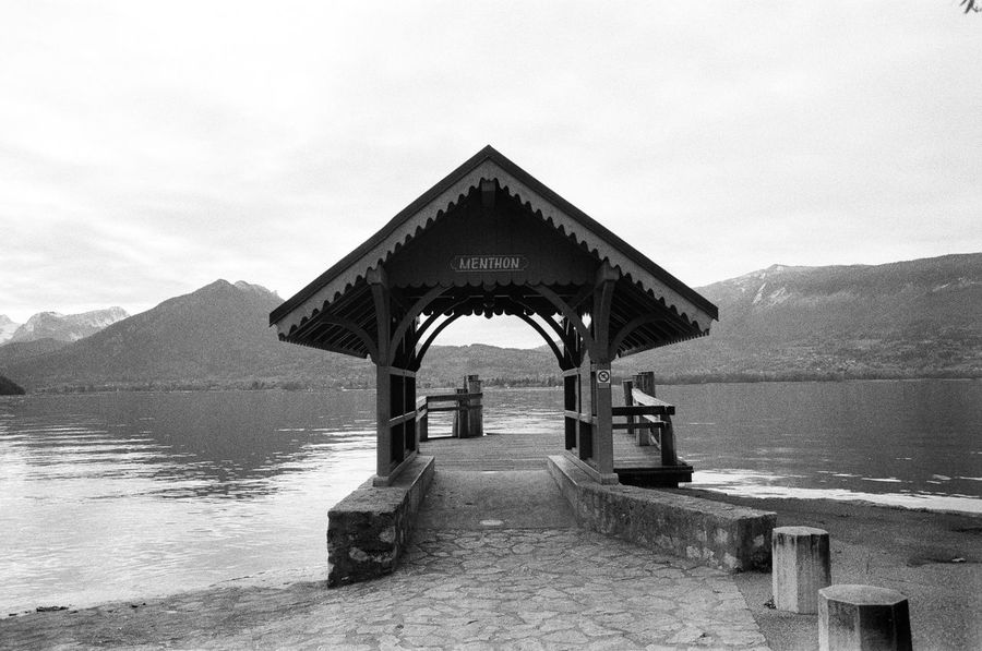 35mm Film Analogue Photography Lac D'Annecy Menthon Winter Analog Architecture Beauty In Nature Blackandwhite Built Structure Day Embarcadère Mountain Mountains Nature No People Outdoors Scenics Sea Sky Tranquility Water