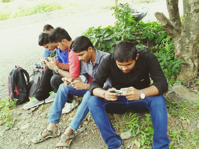 What Who Where Civilengg Class On Field Practical Don't Disturb Us Its Mobile Time Togetherness Friendship