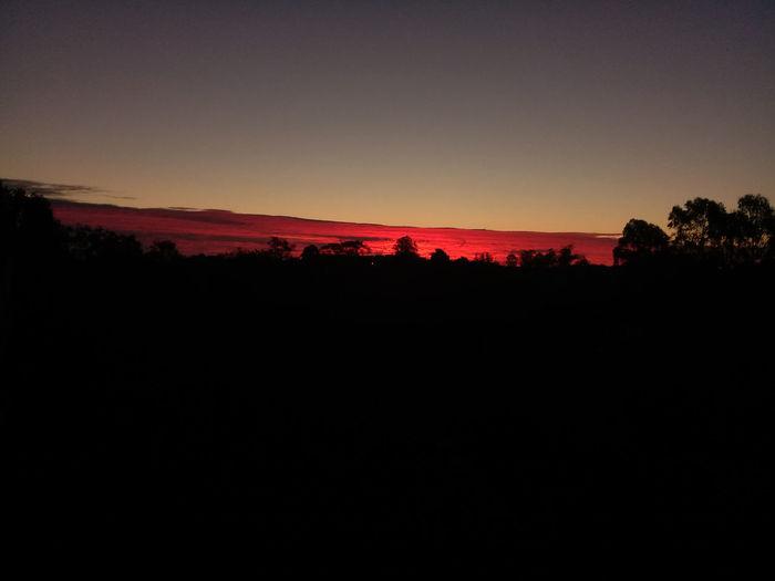 paisaje de el cielo al atardecer Sky Cielo Colors Colorful Colorsky Cielo Colorido Amanecer Atardecer Atardeceres Amaneceres Hermoso Beautiful Astronomy Sunset Tree Silhouette Sky Landscape Moon Moonlight Eclipse Sky Only Romantic Sky Dramatic Sky