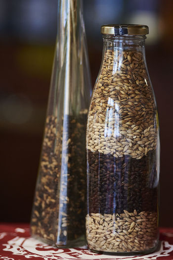 craftbeer Ale Barley Beer Close-up Craftbeer Focus On Foreground Millet No People Oat Seeds Selective Focus Still Life
